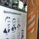 Old style barbershop in downtown Phoenix